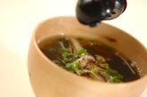 キノコ汁の作り方3