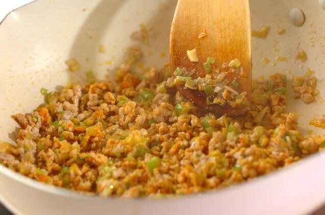 白菜入り麻婆豆腐の作り方の手順5