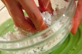 抹茶白玉アイス添えの下準備1