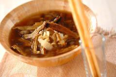 ポルチーニ茸のスープ