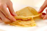 バナナ入りクレープの作り方3