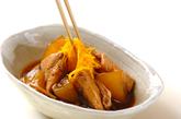 しっかり味のブリ大根の作り方4