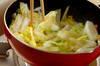 白菜とニンジンの甘酢炒めの作り方の手順5