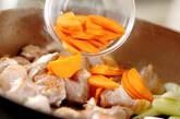 鶏肉と大豆の炒り煮の作り方6