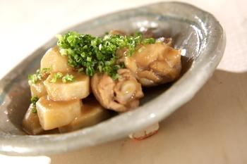 里芋と鶏肉のみそ煮