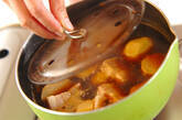里芋と豚の煮物の作り方4