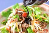 牛肉サラダ黒ゴマ風味の作り方9