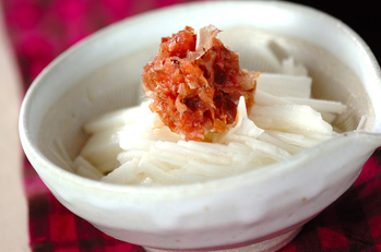 長芋の梅肉ダレ