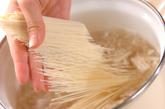 キムチにゅう麺の作り方1