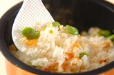 ソラ豆ご飯の作り方3