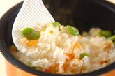ソラ豆ご飯の作り方8