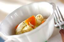 レンジ野菜のマスタード和え