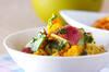 おさつのポテトサラダの作り方の手順