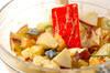 おさつのポテトサラダの作り方の手順7