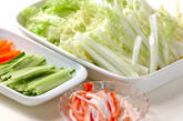 白菜の豆乳煮の作り方1