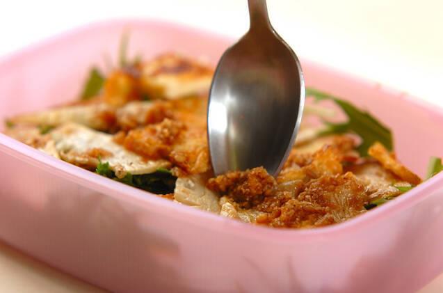 厚揚げとタケノコのサラダの作り方の手順3