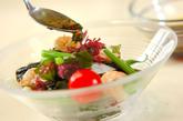 エビと海藻のサラダの作り方1