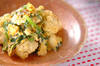 カリフラワーのマヨ炒めの作り方の手順