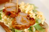 鶏のタルタルサンドの作り方3