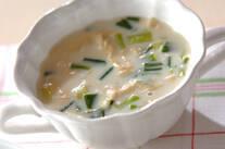 湯葉の豆乳汁