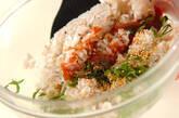 夏にさっぱり!梅しそゴマの混ぜご飯の作り方3