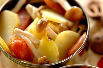 ジャガイモの炒め物