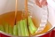フキと揚げ天の煮物の作り方2