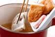 フキと揚げ天の煮物の作り方5