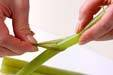 フキと揚げ天の煮物の作り方3
