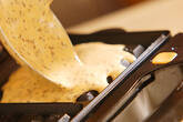 ミルク紅茶ワッフルの作り方3
