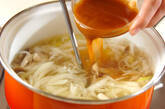 キノコのスープの作り方7