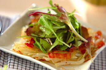 ジャガイモのサラダガレット