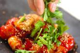プチトマトとエビのナンプラー炒めの作り方3