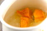 カボチャのデザートスープの作り方1