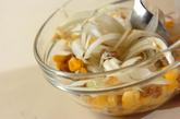 納豆とコーンの落とし揚げの作り方1