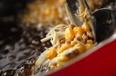 納豆とコーンの落とし揚げの作り方3
