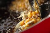 納豆とコーンの落とし揚げの作り方6