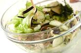 ナス入りコールスローサラダの作り方3