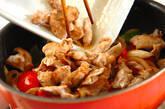 豚肉のウスターソース炒めの作り方7
