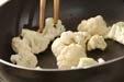 カリフラワーカレー炒めの作り方1
