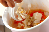 トマトと魚介のスープの作り方3
