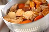 さつま揚げと根菜の煮物の作り方12