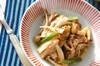 キノコのサラダの作り方の手順