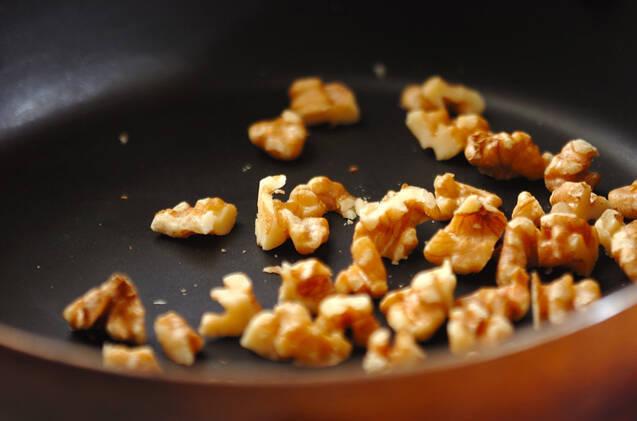 キャベツのクルミみそ和えの作り方の手順1