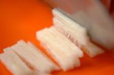 せん切り長芋のもろみ添えの作り方1