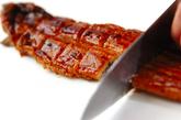 ウナたま丼の下準備1