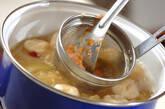 サツマイモのみそ汁の作り方5