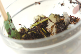 ヒジキとエビのサラダの作り方2
