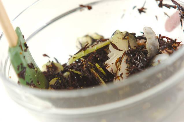 ヒジキとエビのサラダの作り方の手順6