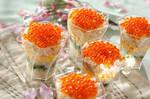 彩りカップ寿司